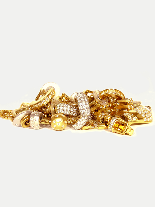 gold and diamond jewelry