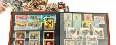 stamp collection for appraisal
